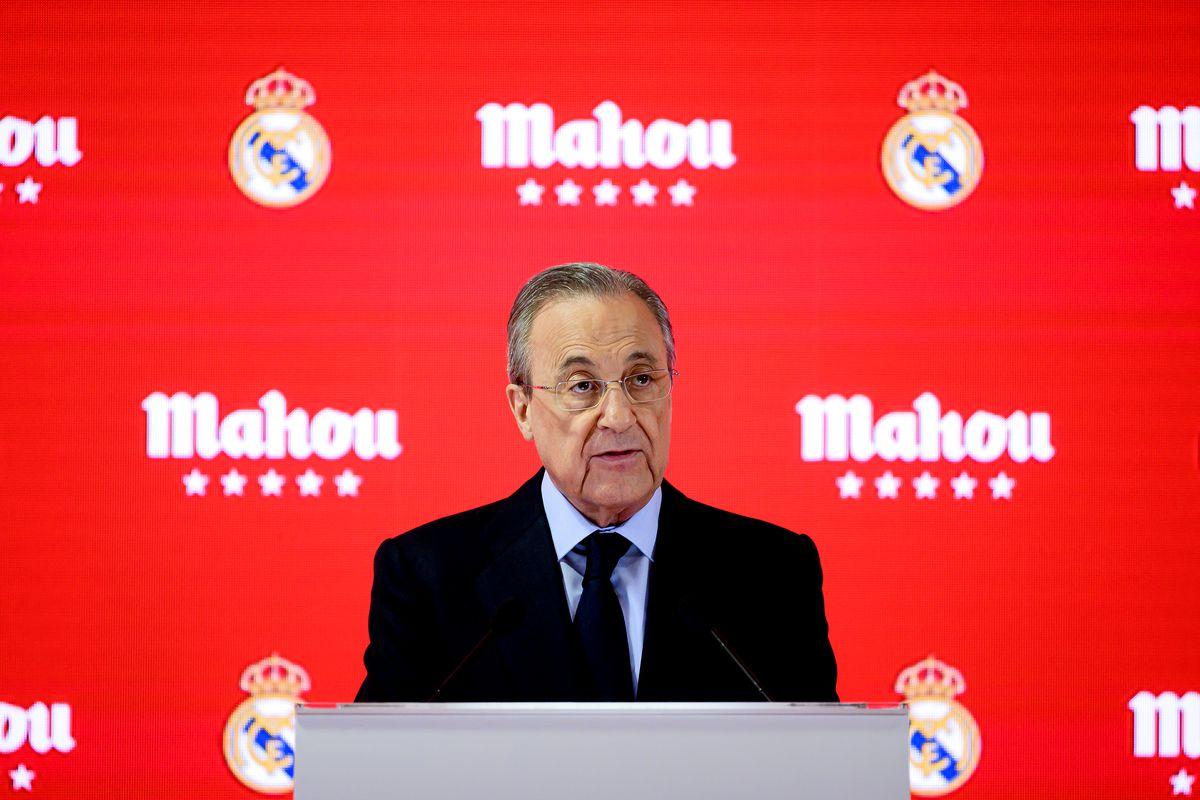 Real Madrid And Mahou San Miguel Sponsorship Presentation