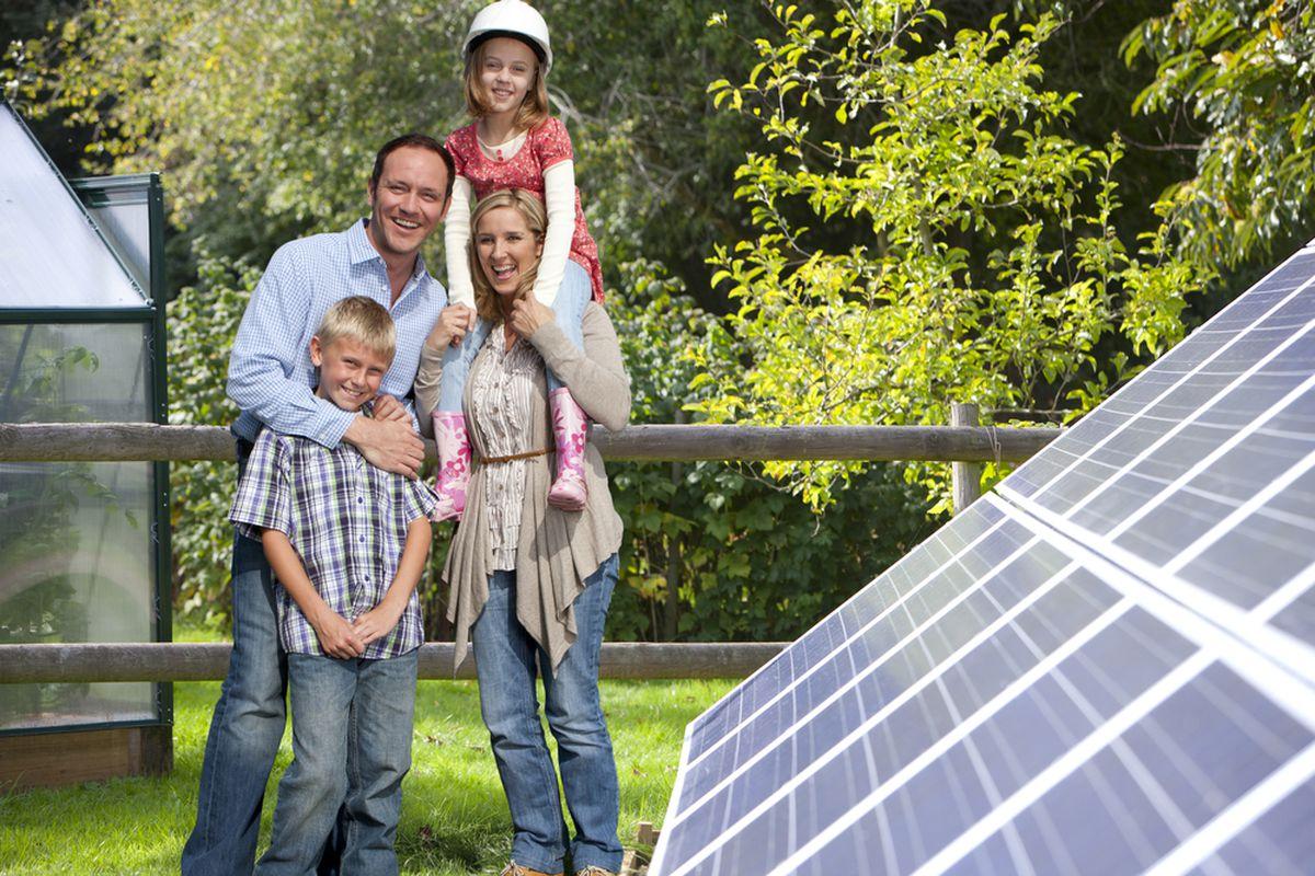 Happy solar voters.