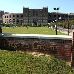 <strong>2006- View of Langford Green leading to FSU Doak Campbell football stadium</strong>