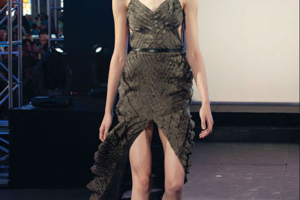 dba3a4f39f53 Project Runway Kicks Off With A Dress So Lovely That Michael Kors Considers  Wearing It