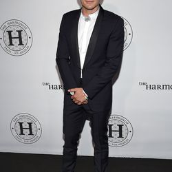 Orlando Bloom at the Harmonist cocktail party.