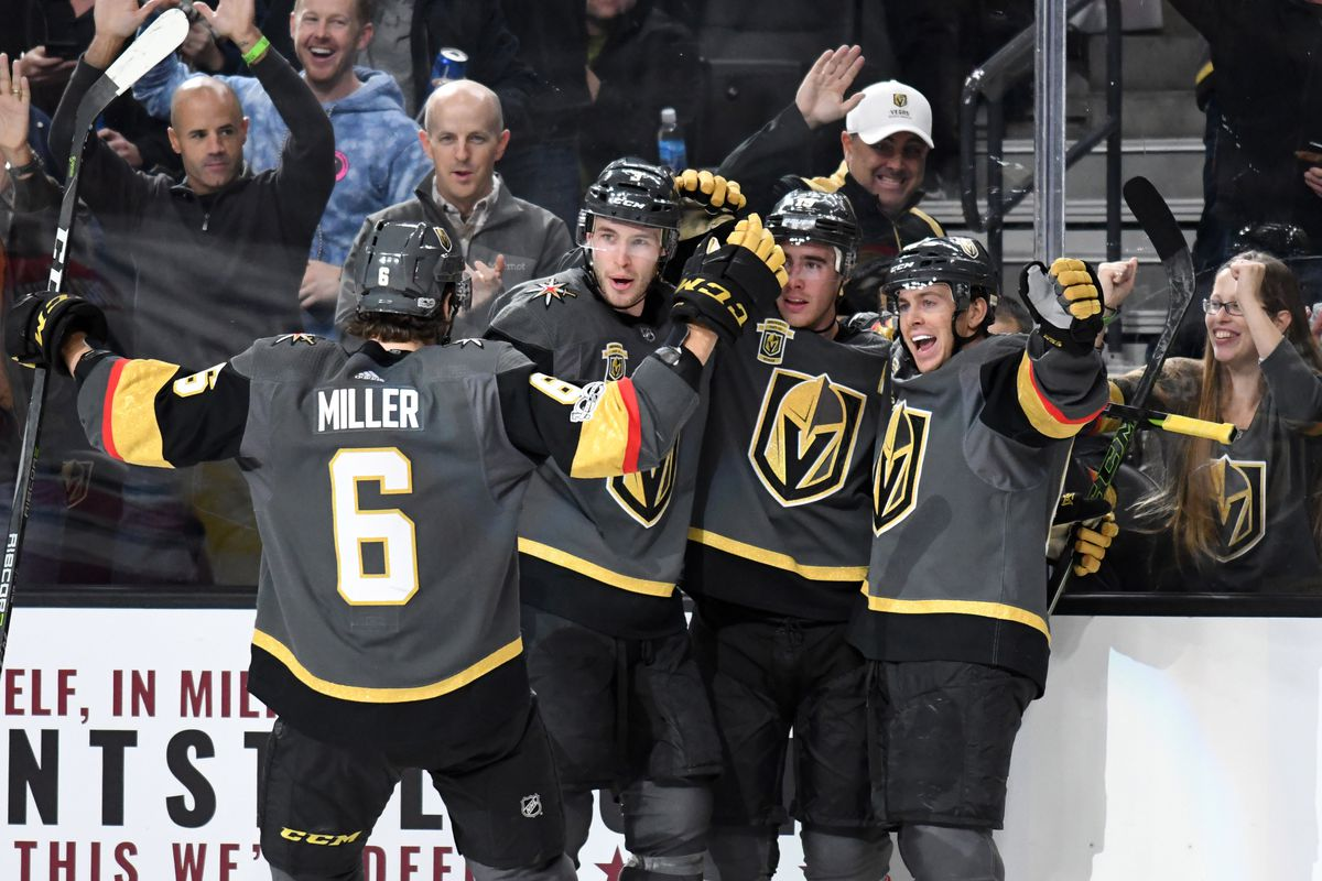 NHL: Carolina Hurricanes at Vegas Golden Knights