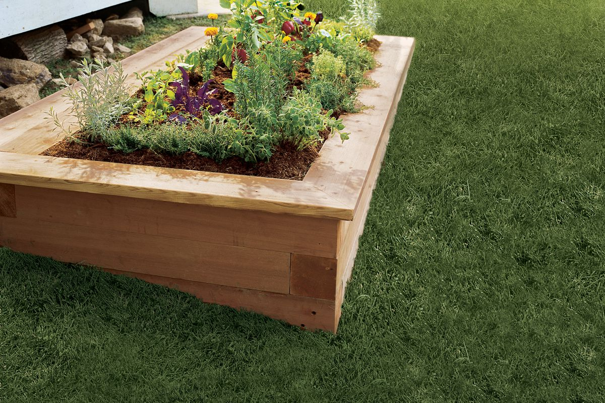 How To Build A Raised Planting Bed This Old House