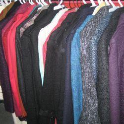 Sample rack coats