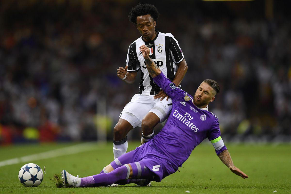 WATCH Sergio Ramos dominating performance against Juventus