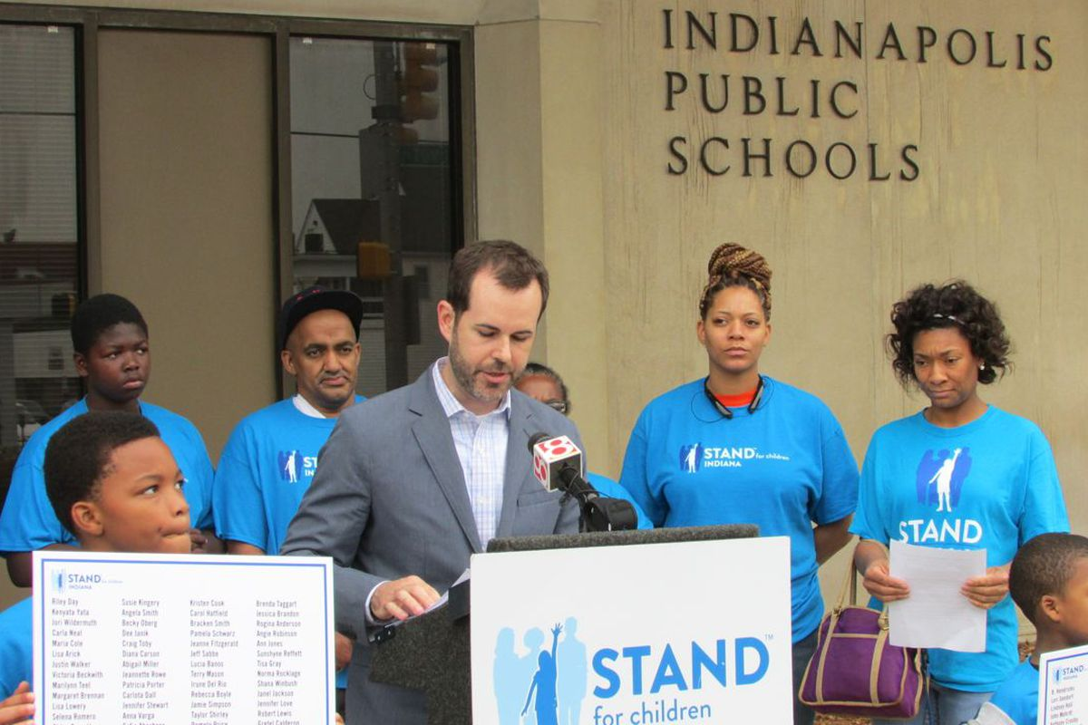 Stand For Children endorsed candidates in the IPS school board race.