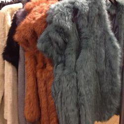 Joie fur vests, $150