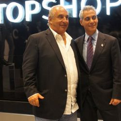 Sir Philip Green and The Mayor of Chicago, Rham Emanuel