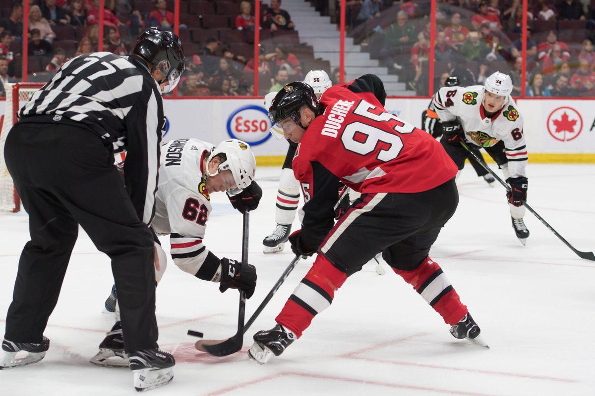 NHL: Preseason-Chicago Blackhawks at Ottawa Senators