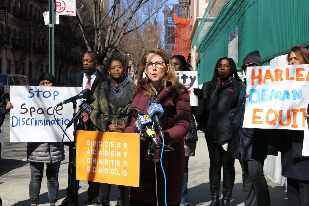 Success Academy CEO and founder Eva Moskowitz seemed to be cooling her support for U.S. Education Secretary Betsy DeVos.