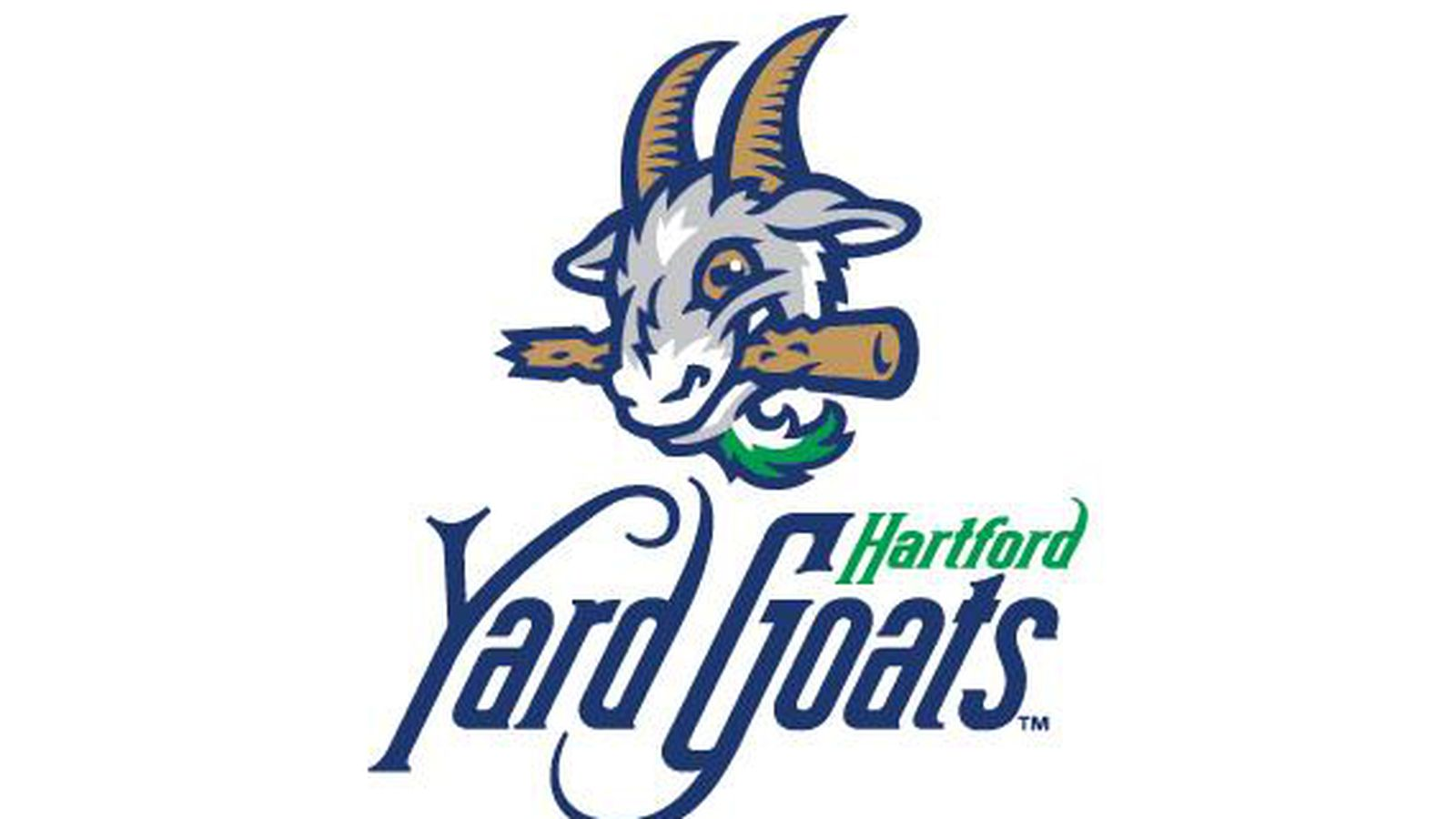 The Hartford Yard Goats Have A Logo With A Goat