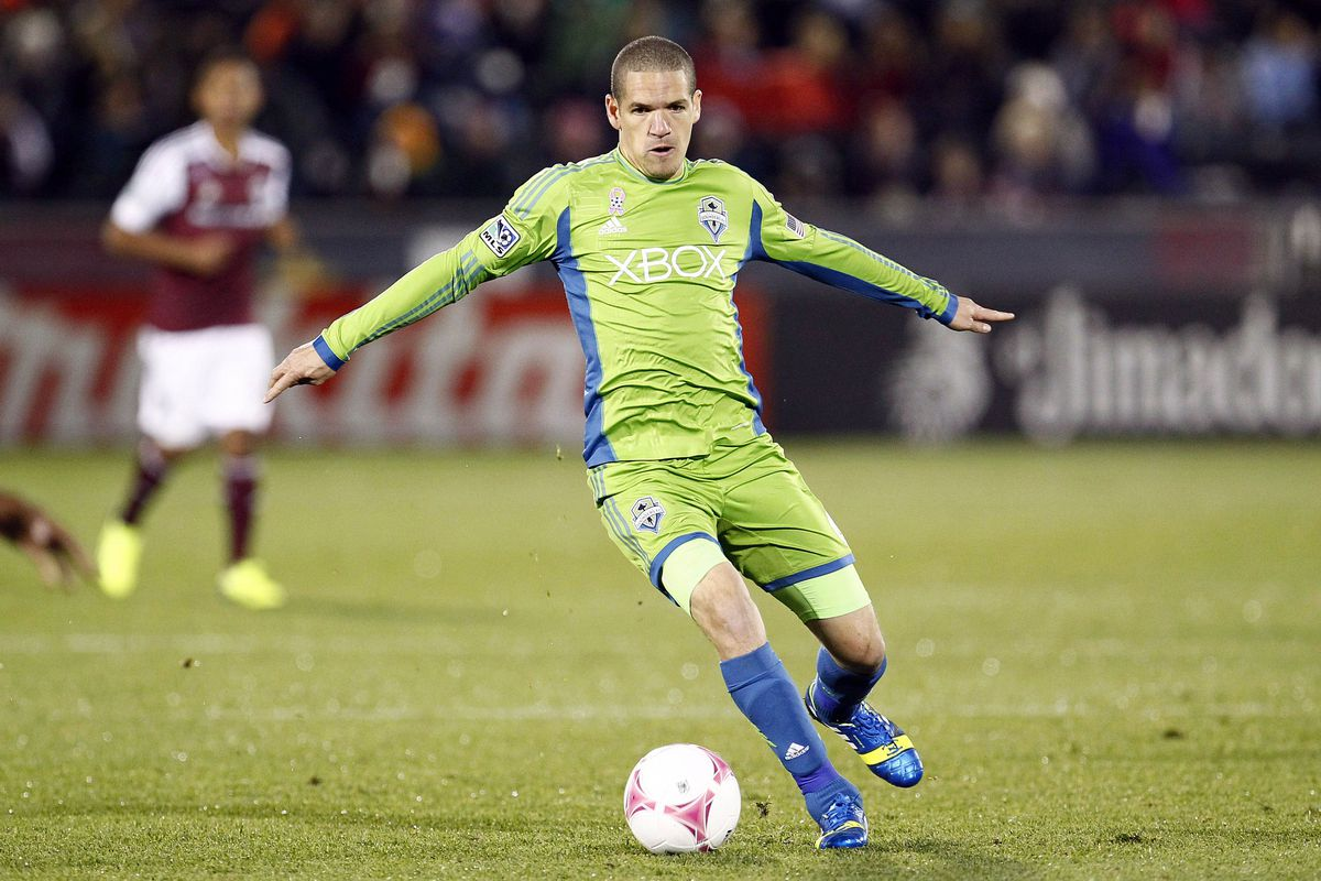 Alonso is the best passer in MLS and a big part of the Sounders success.