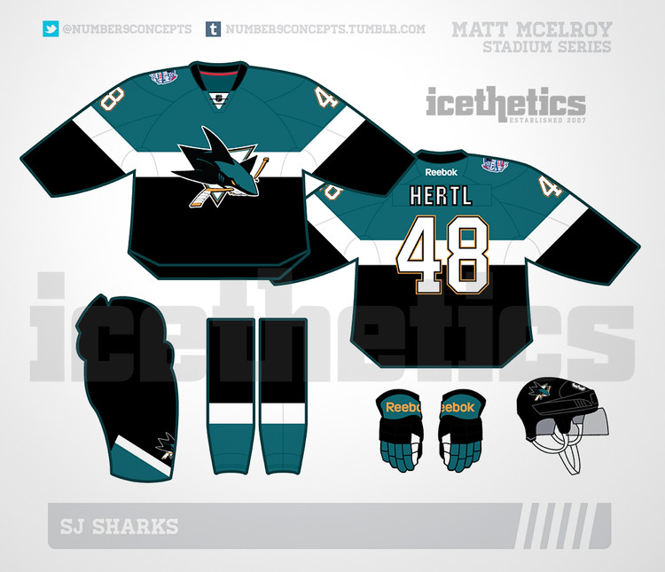 the latest 7f1d8 80a48 Sharks Stadium Series jersey design leaks - Fear The Fin