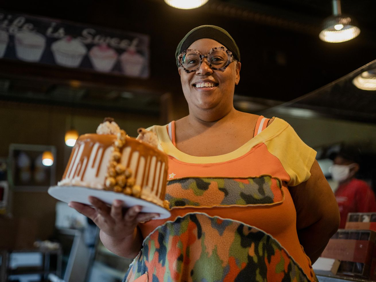 After Kamala Harris visit, business jumps at Brown Sugar Bakery on Chicago's South Side