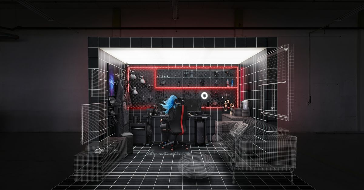 Ikea introduces a new line of furniture and gear for gamers – Polygon