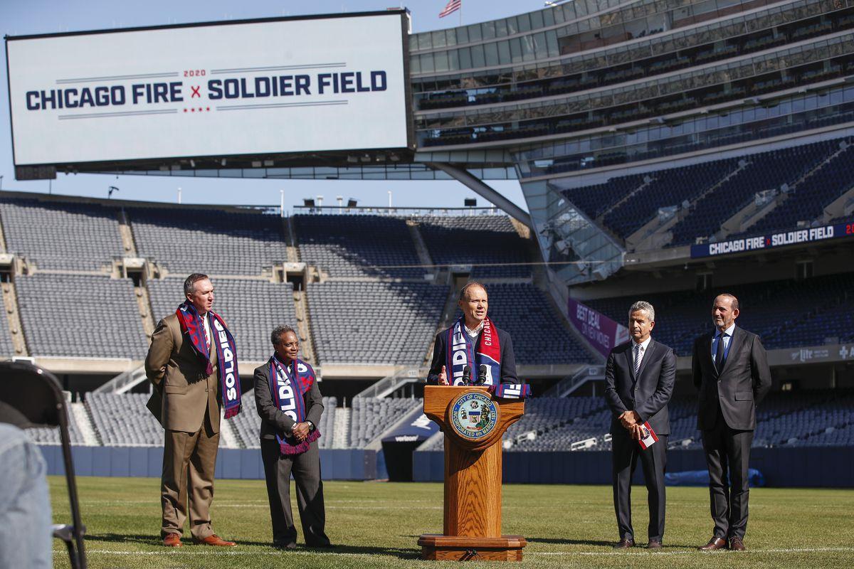 MLS: Chicago Fire Announcement-Soldier Field