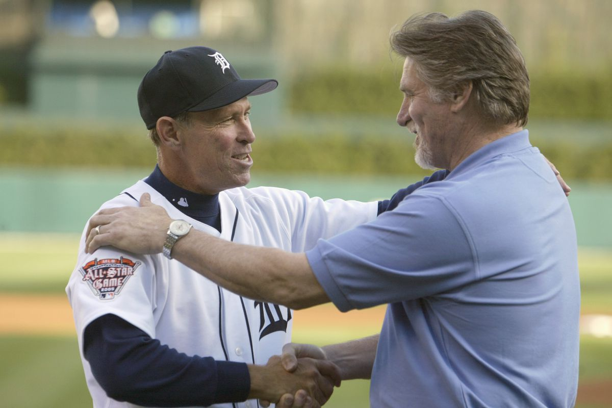 Former Tigers Trammell and Morris Head to Cooperstown