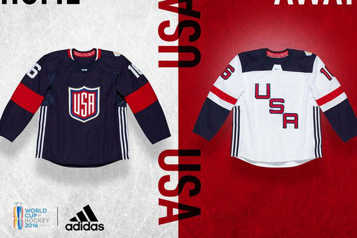 new arrival db0a0 5c9ad All the 2016 World Cup of Hockey team jerseys released - Die ...
