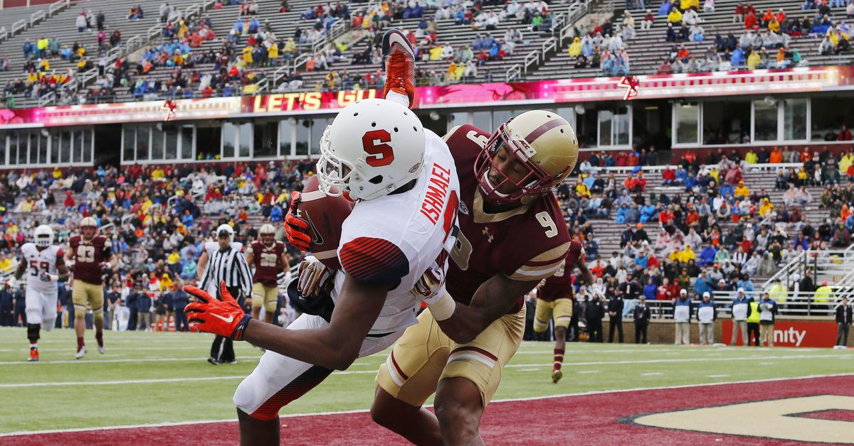 Syracuse vs. Boston College: TV/streaming, time, odds ...