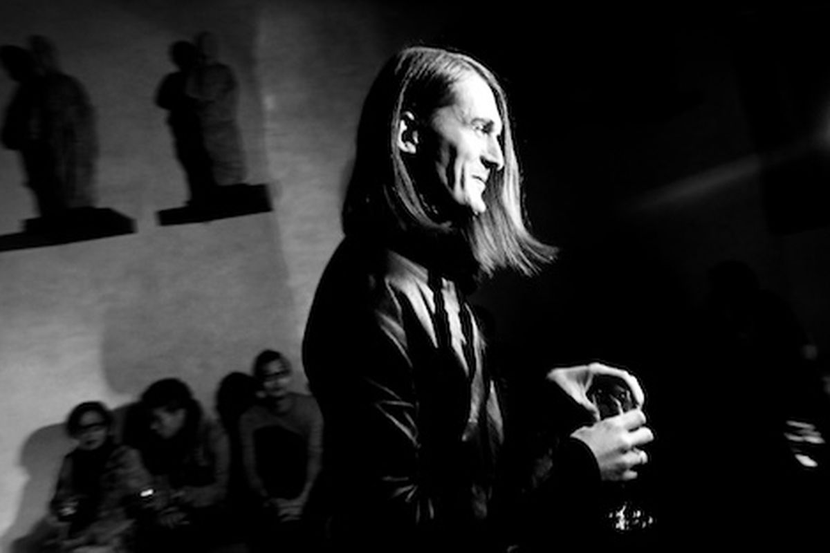 Gareth Pugh at Pitti Immagine Uomo 79 on January 13, 2011 in Florence, Italy (Getty Images)