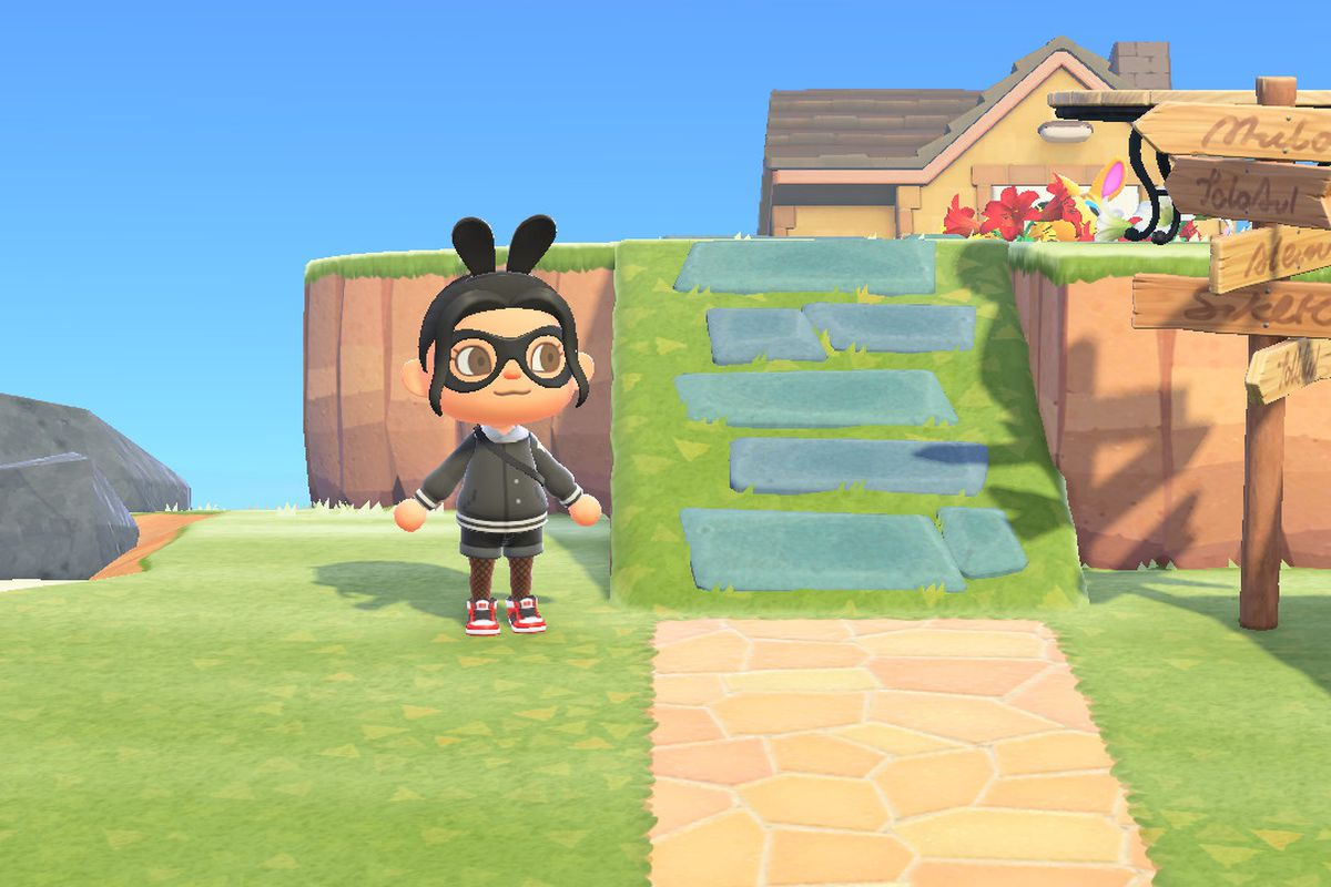 Build Bridges And Inclines In Animal Crossing New Horizons