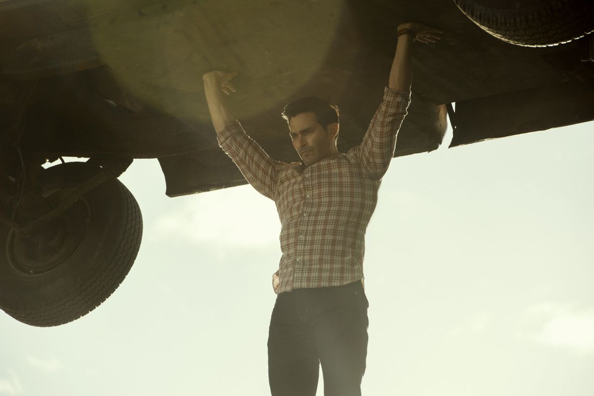 Tyler Hoechlin (Tyler Hoechlin), Clark Kent (Clark Kent) in Superman and Louise