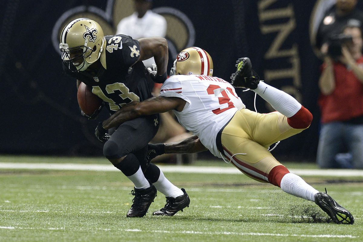 Donte Whitner, making plays.