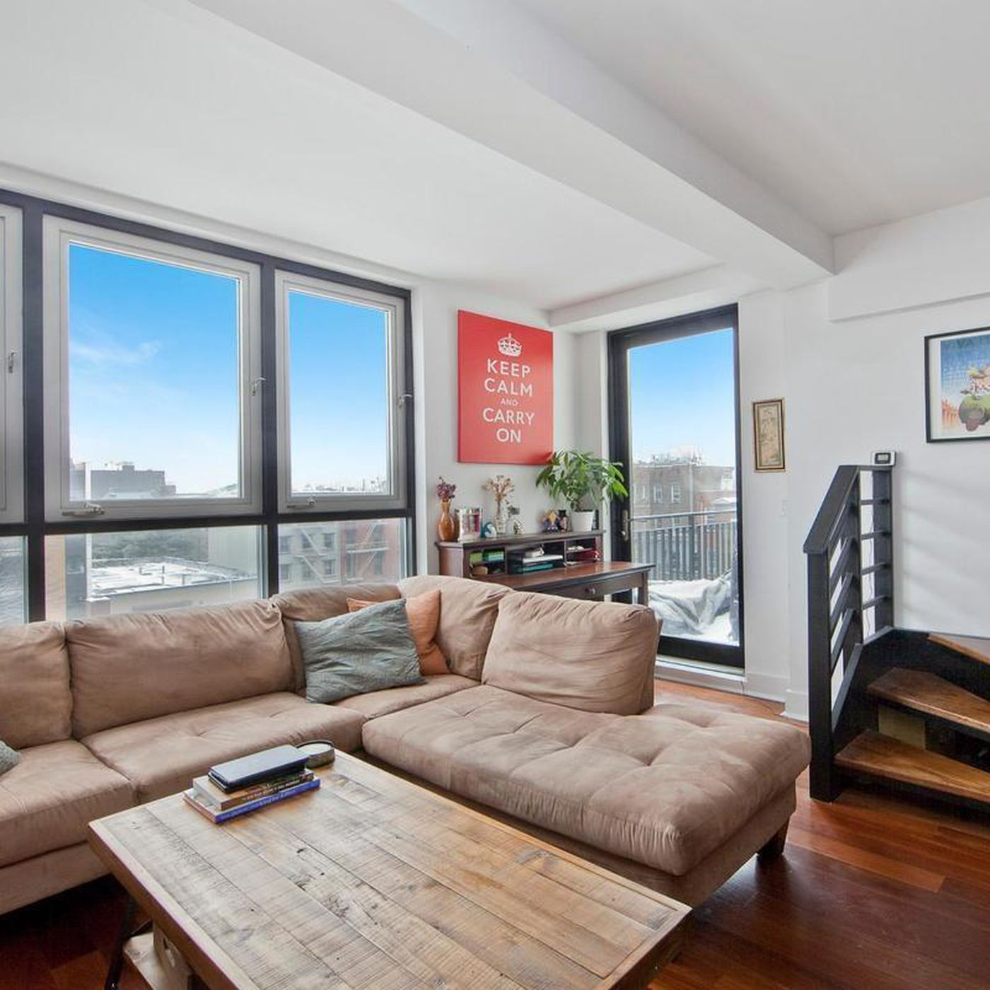 For Less Than $1M, A Greenpoint Penthouse With Instagram Worthy Manhattan
