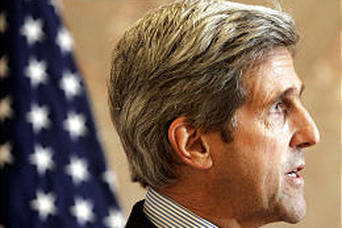 Sen. John Kerry, D-Mass., has encountered problems with Iraq stance.