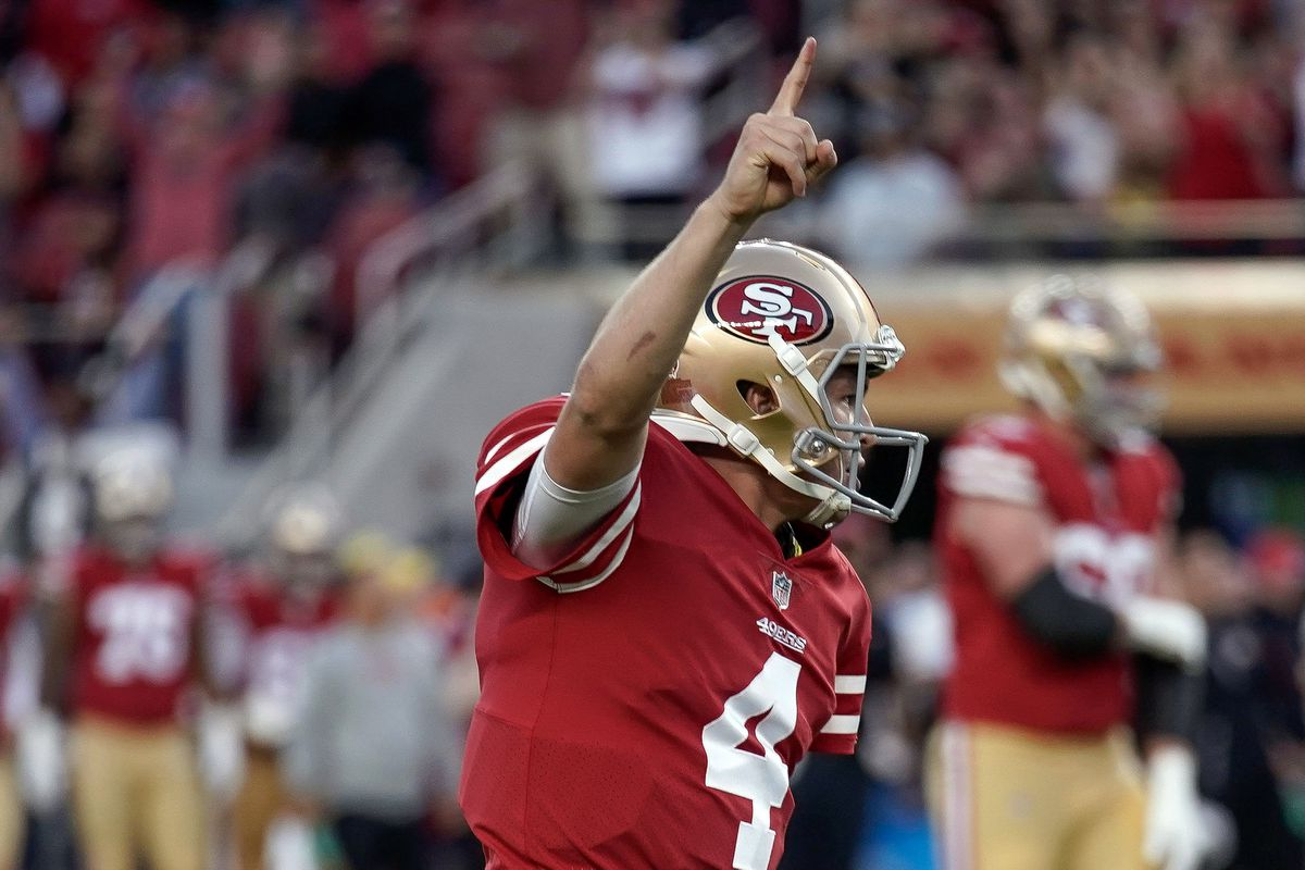 pretty nice f6a03 20505 49ers QB Nick Mullens is the underdog story the 2018 NFL ...