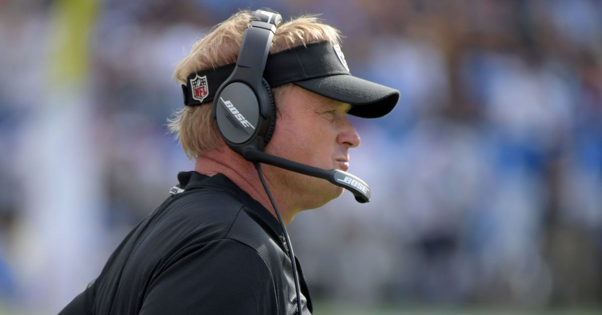 Gruden made another costly decision involving Raiders travel