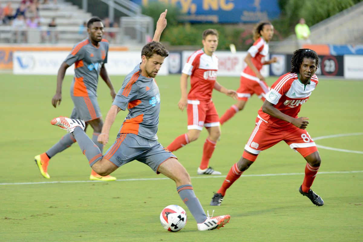 MLS: U.S. Open Cup-New England Revolution at Carolina RailHawks
