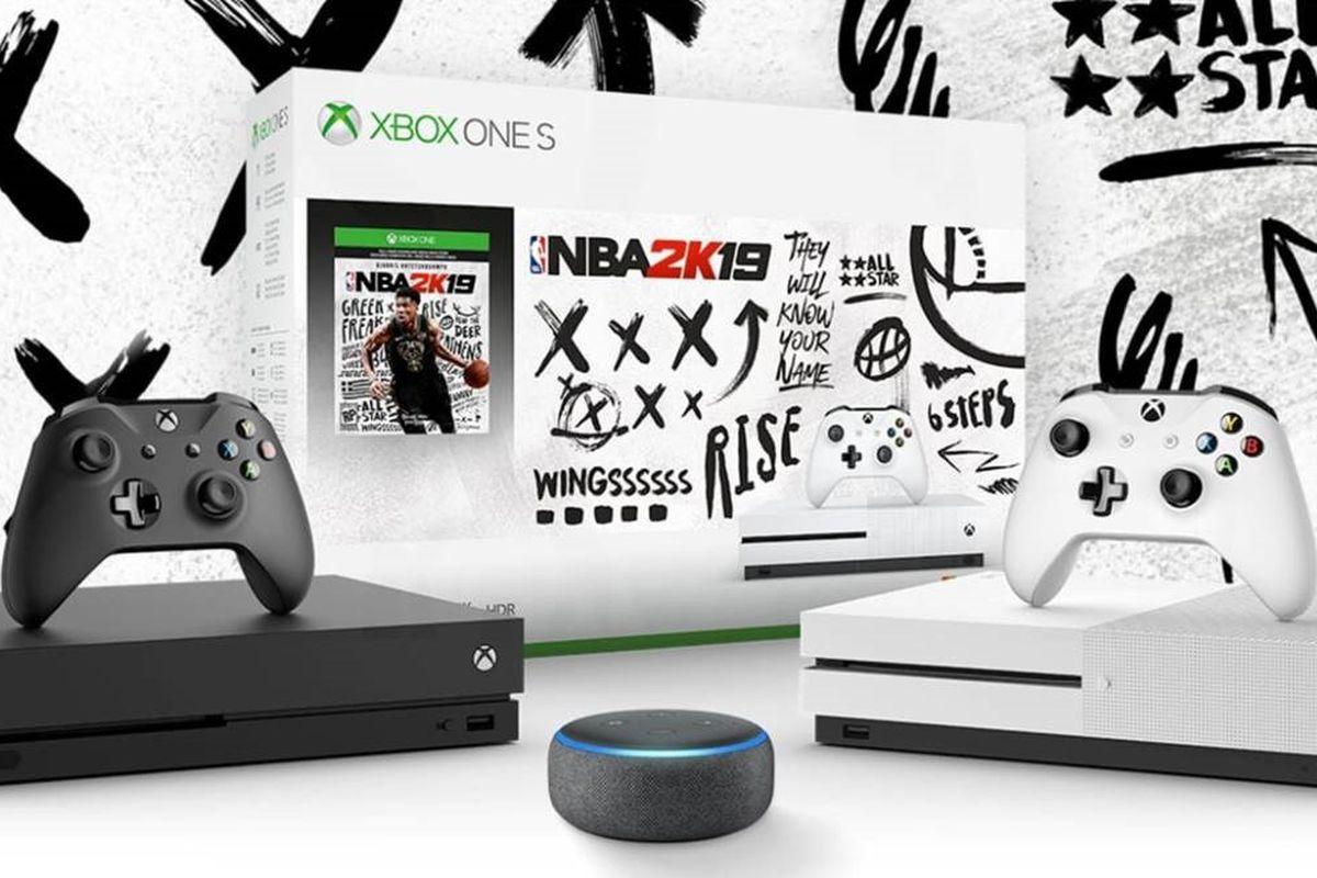 NBA 2K19 Xbox One bundles with Amazon Echo Dot