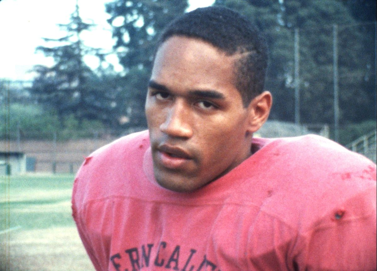 O.J. Simpson, as pictured in ESPN's O.J.: Made in America series.
