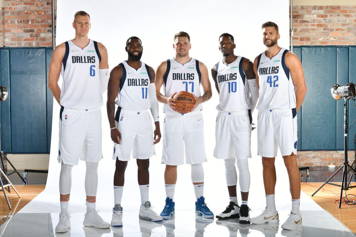 2021-22 Dallas Mavericks Media Day