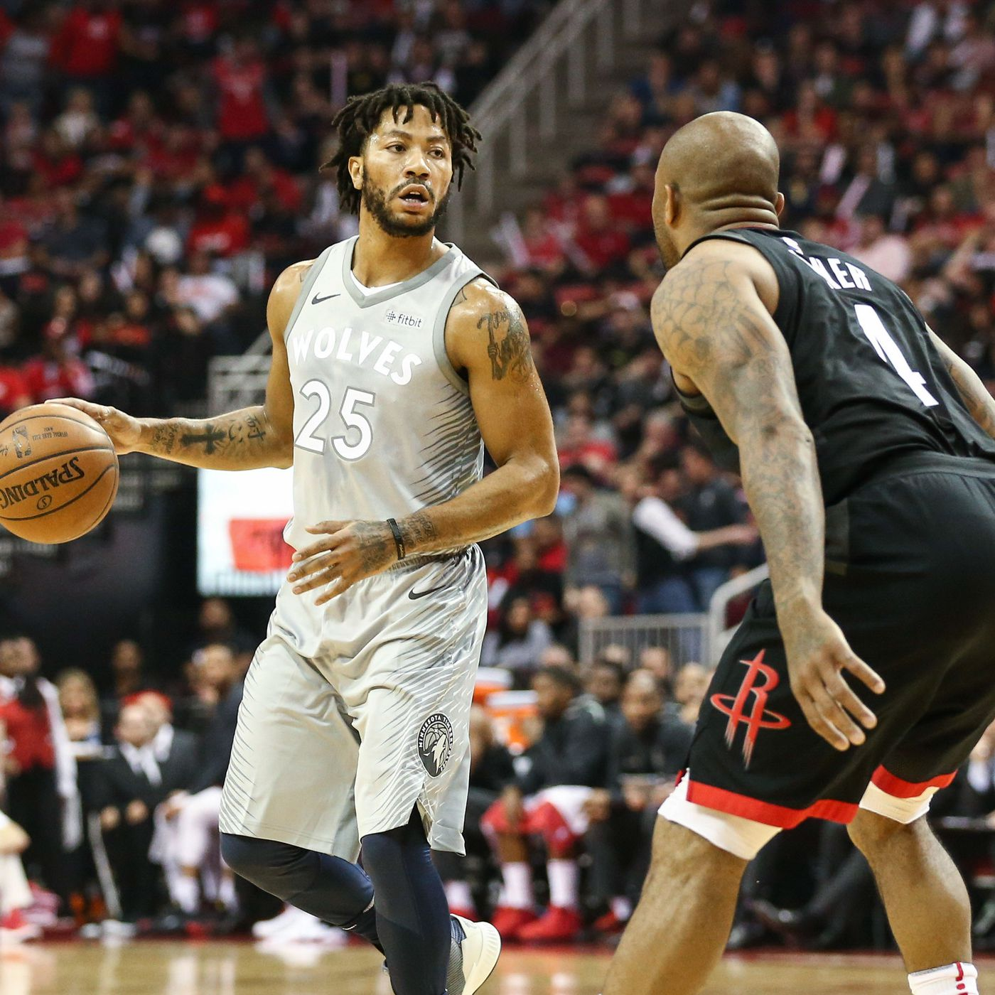 aac86f9e0e19 The ghost of Derrick Rose is somehow helping the Timberwolves survive