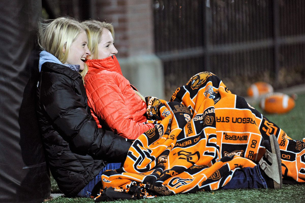 It's time for some more November football! Grab a coat and a blanket!