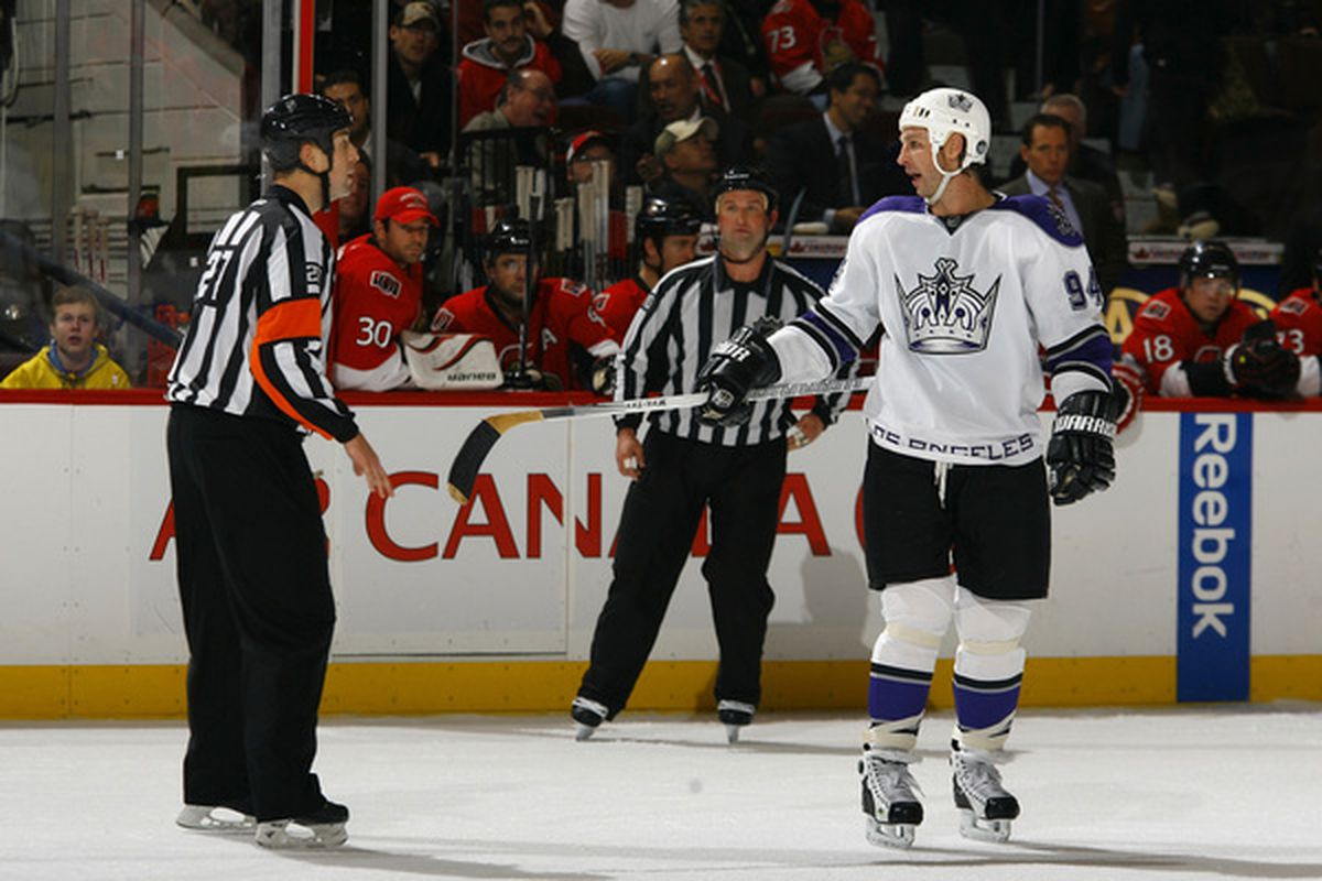 Ryan Smyth and the Los Angeles Kings will try to end a four-game road trip on a positive note when they visit the Montreal Canadiens for tonight's battle at the Bell Centre.
