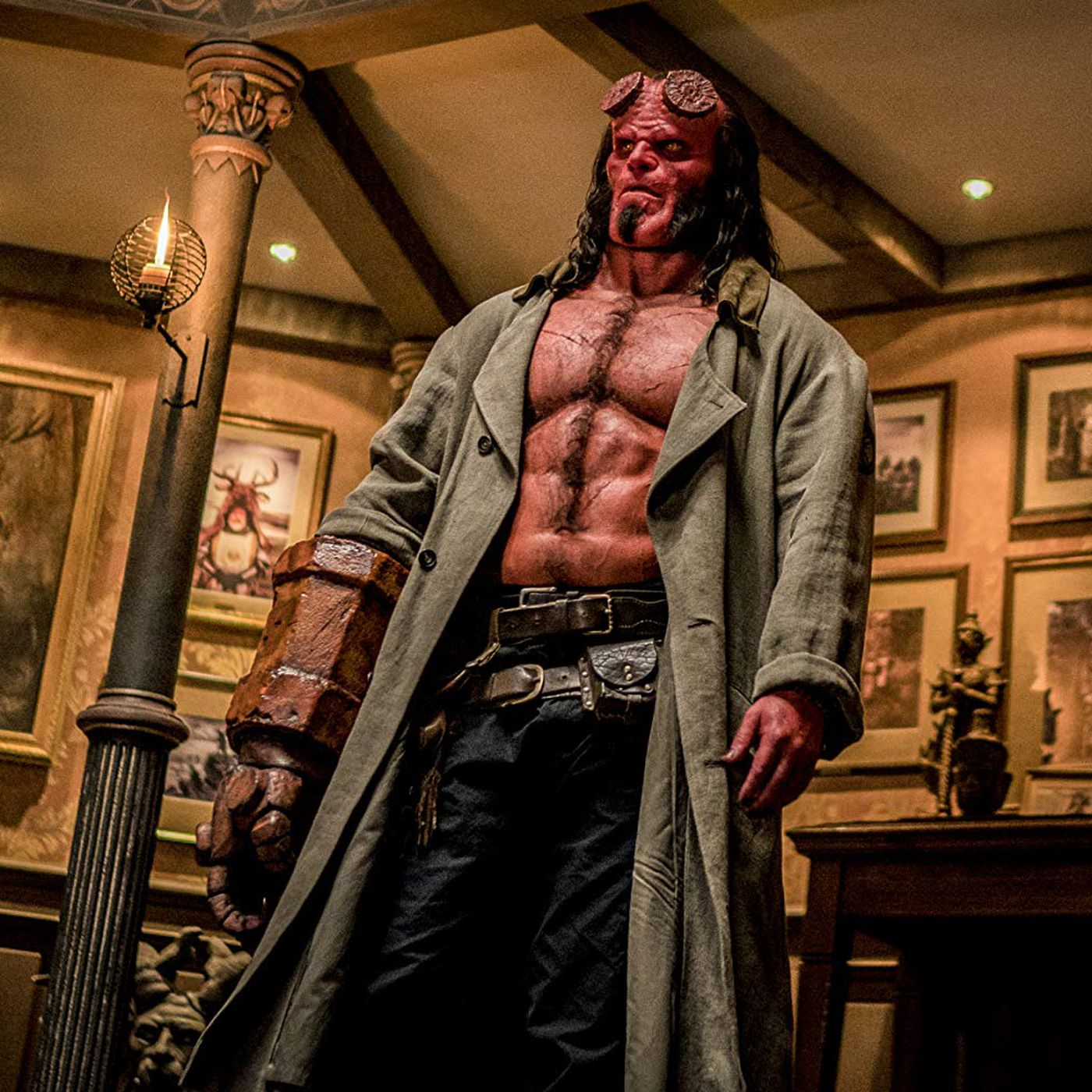 Hellboy review: a gorgeous but absurd disaster - Vox
