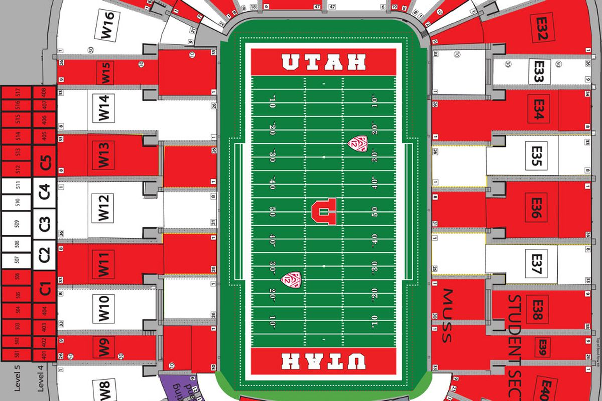 Utes to stripeout res for usu game block u