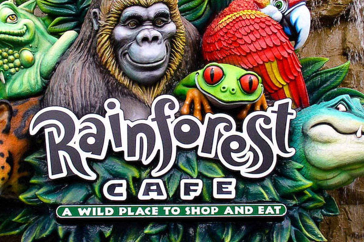 Rainforest Cafe Downtown Houston