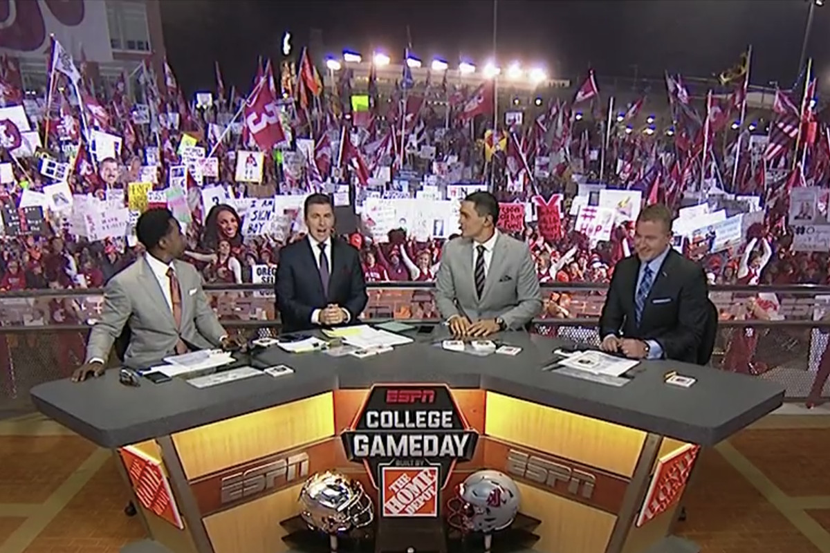 Image result for washington state college gameday