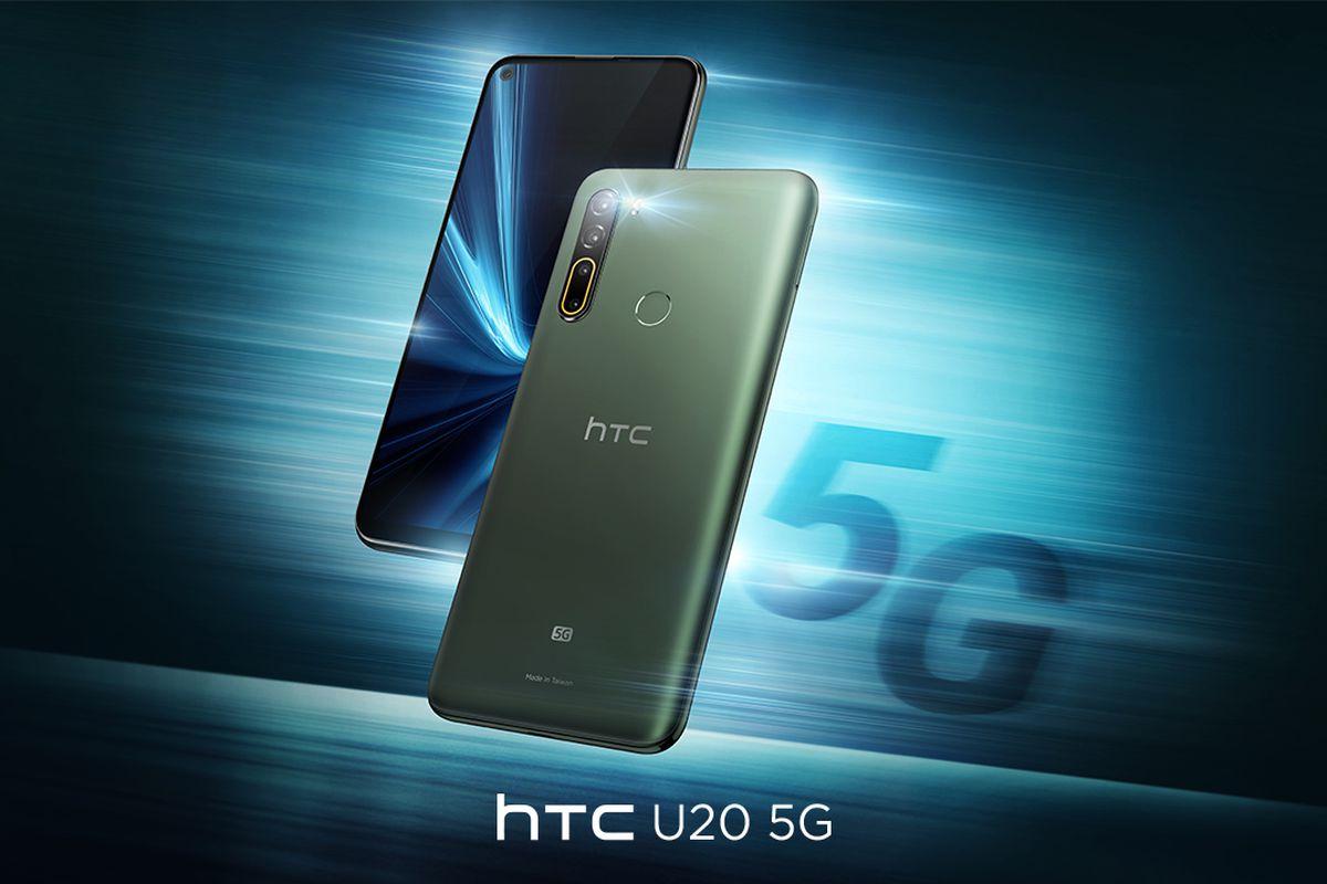 HTC U20 5G: El regreso de la marca es en la gama media