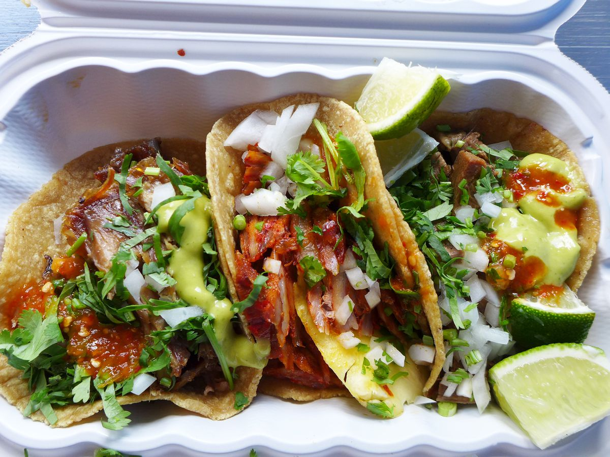 Tacos at Taco Mix Lower East Side