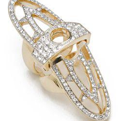 The Renaissance Pave Hinge Ring, $92 (reg $230)