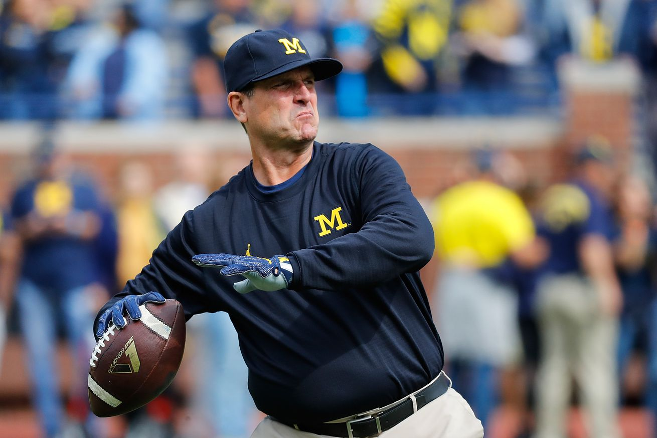 Jim Harbaugh and his impact on the Michigan QB room
