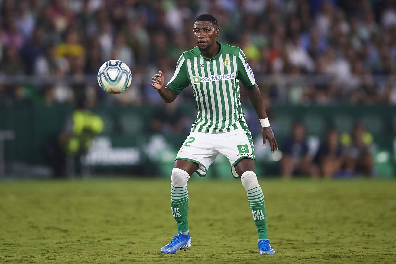 Betis rule out Barca signing Emerson before 2021