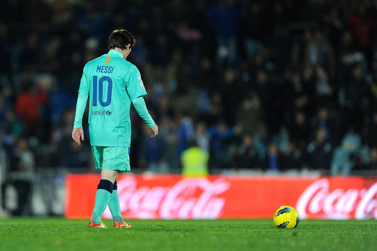 Will Messi have a better game against a different Madrid team?