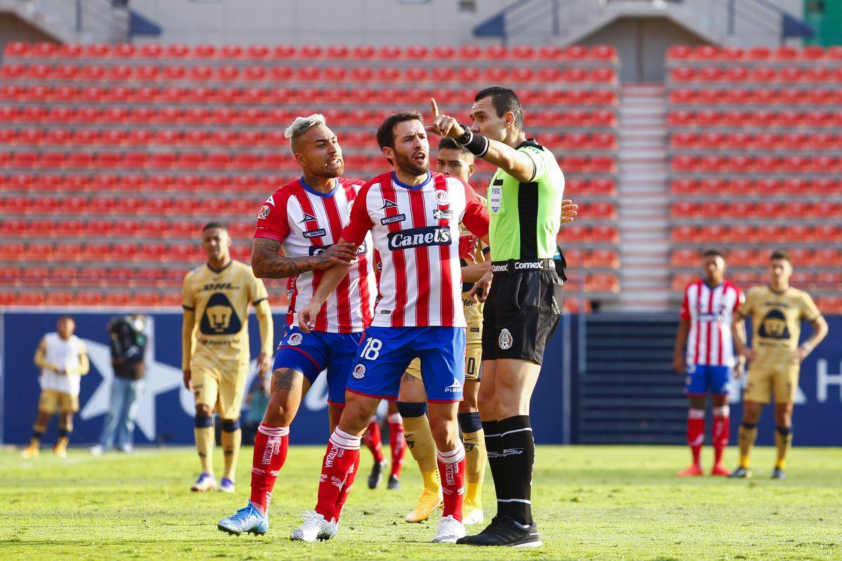 Atletico San Luis v Pumas UNAM - Torneo Guard1anes 2021 Liga MX