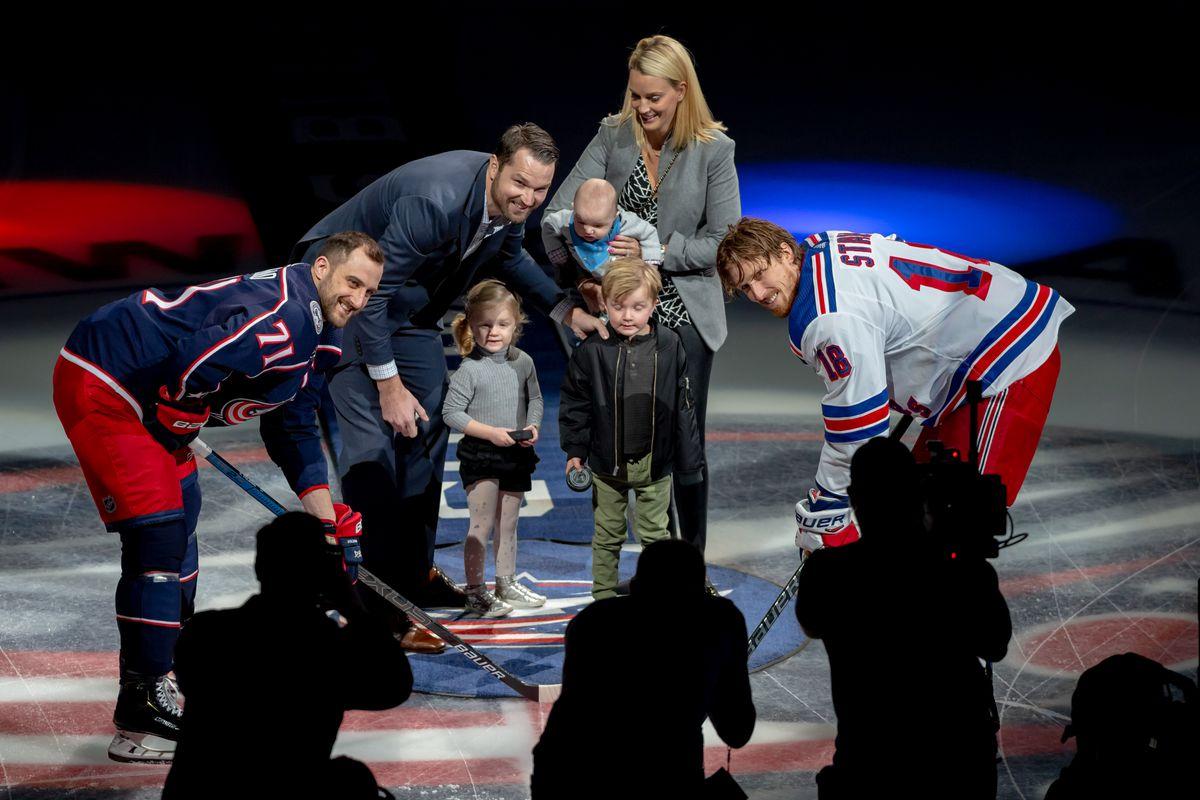 NHL: JAN 13 Rangers at Blue Jackets